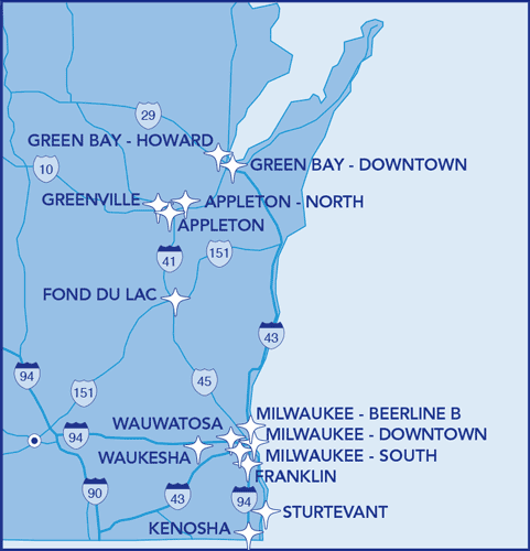 Dental Associates clinic locations
