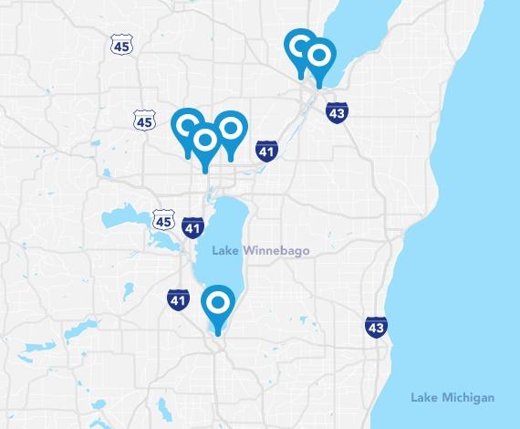 CarePlus network dentists in northeast Wisconsin