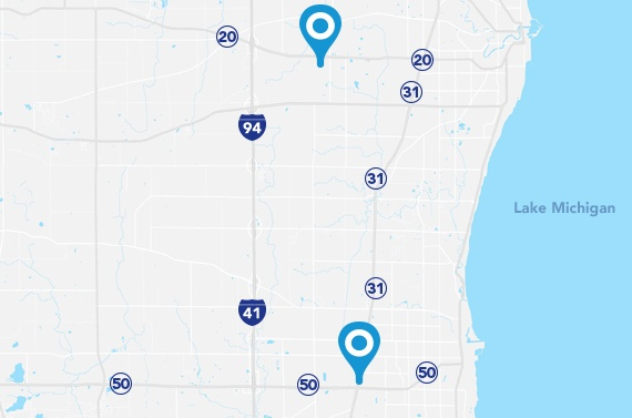 CarePlus network dentists in southeast Wisconsin